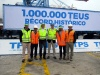 TPS reaches one million TEU transfer in 2017